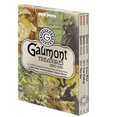 Gaumont Treasures Volume 1 1897-1913 (DVD) (Gaumont Cinema)