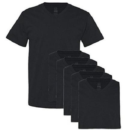 d7f1559d7c7 Fruit Of The Loom - Fruit of the Loom Men s 6-Pack Stay-Tucked V-Neck T- Shirt (Medium