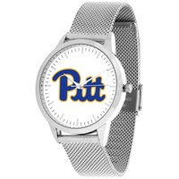 Suntime ST-CO3-PIP-STATEM-S Pittsburgh Panthers Mesh Statement Watch - Silver Band