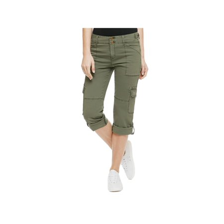 (Sanctuary Womens Crop Pockets Cargo Pants)
