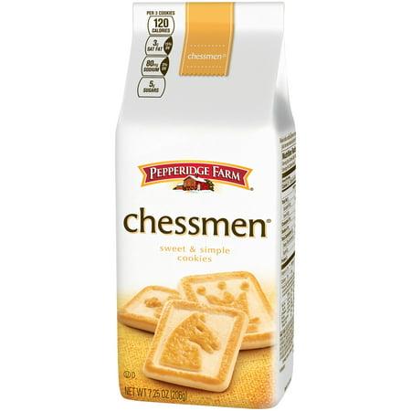 Pepperidge Farms  Chessmen Cookies  7 25 Oz