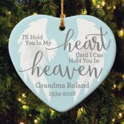 I'll Hold You In My Heart Personalized Ornament