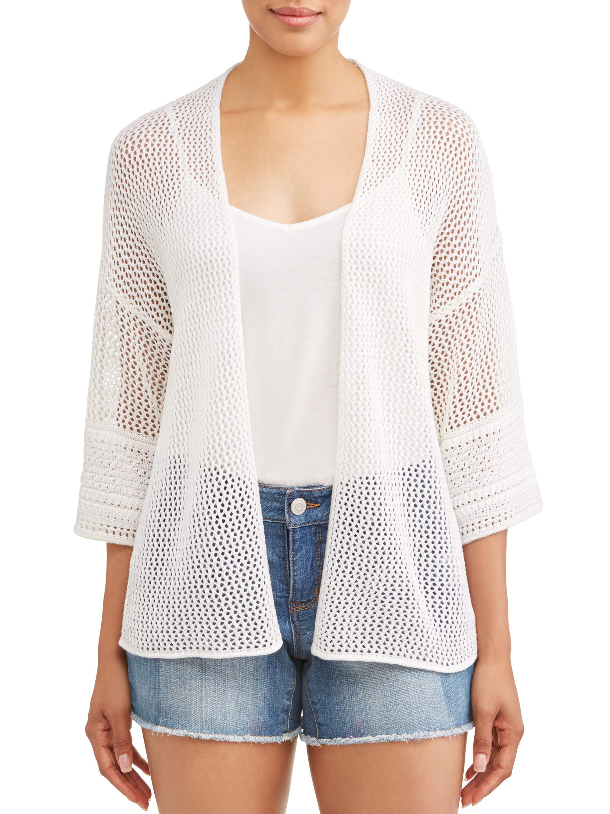 Women's Loose Sleeve Open Cardigan