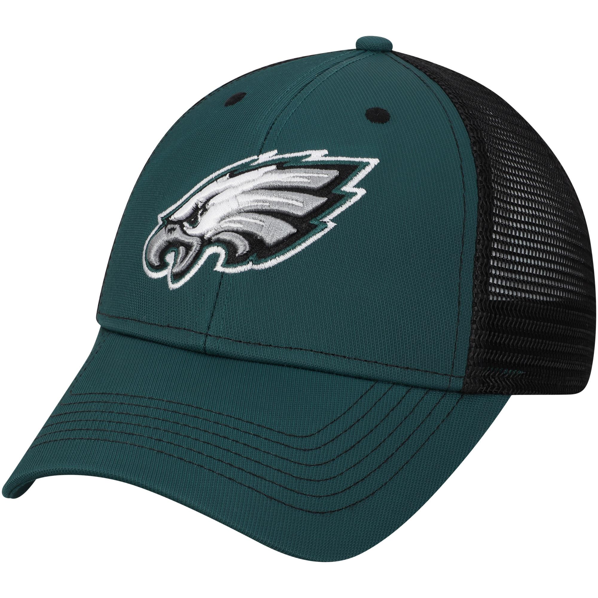 Men's Midnight Green Philadelphia Eagles Explore Adjustable Hat - OSFA
