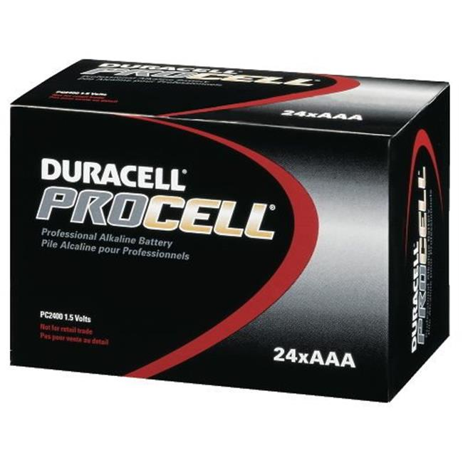 Duracell 243-PC2400BKD 1.5 Volt Industrial Alkaline Battery - AAA