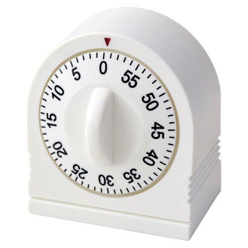acurite kitchen timer, w  walmart, blue and white kitchen timer, white kitchen timer, white retro kitchen timer