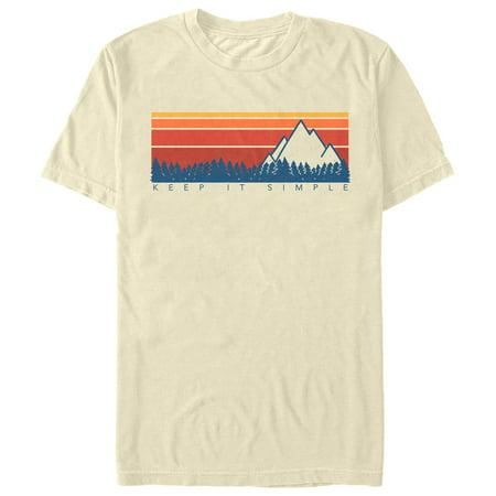 Men's Keep It Simple Retro T-Shirt