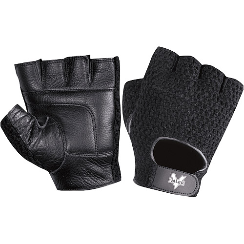 Valeo Meshback Lifting Glove, Black