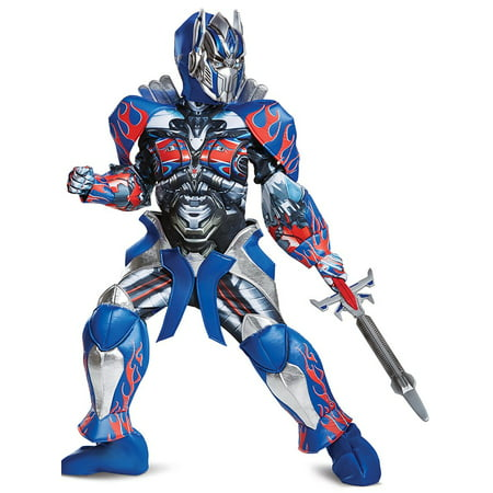 Transformer 5 Optimus Prime Prestige Child Costume](Transformer Costume Diy)