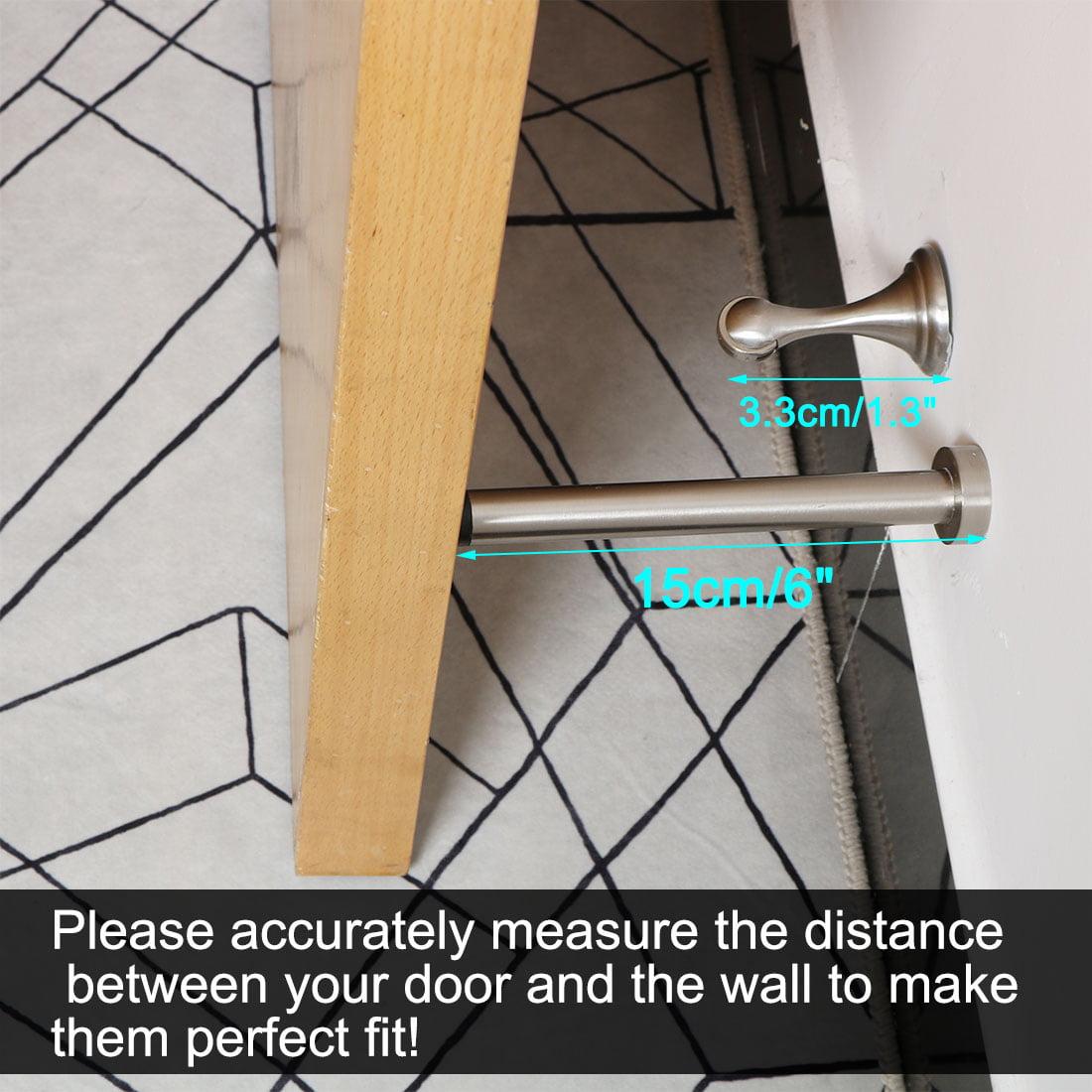 Znic Alloy Household Bedroom Hardware Door Wall Mounted Door Stopper 15cm Length