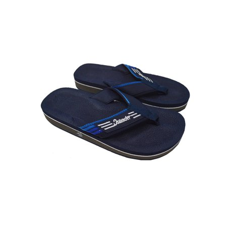 Brown Unisex Flip Flops - Islander Unisex All-Weather Comfortable and Stylish Flip-Flop Sandals