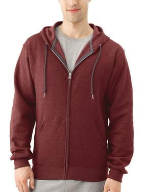 Fruit of the Loom Big Men's EverSoft Fleece Full Zip Hoodie Jacket