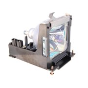 Sanyo PLC-SE10 Projector Housing with Genuine Original OEM Bulb