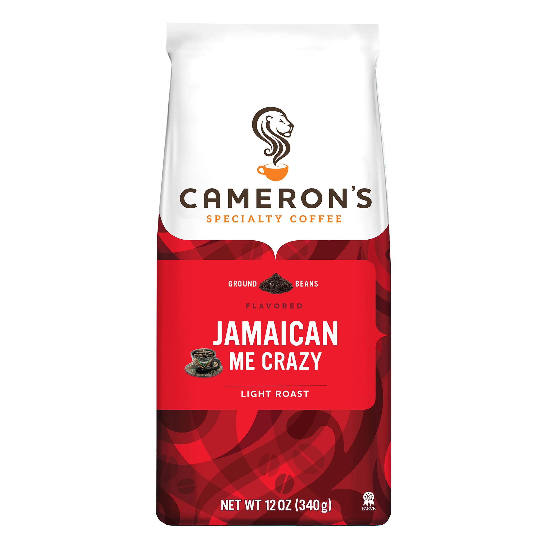 Cameron\'s Specialty Coffee Jamaican Me Crazy Ground, 12oz - Walmart.com