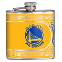 Golden State Warriors 6oz. Stainless Steel Hip Flask - Silver - No Size