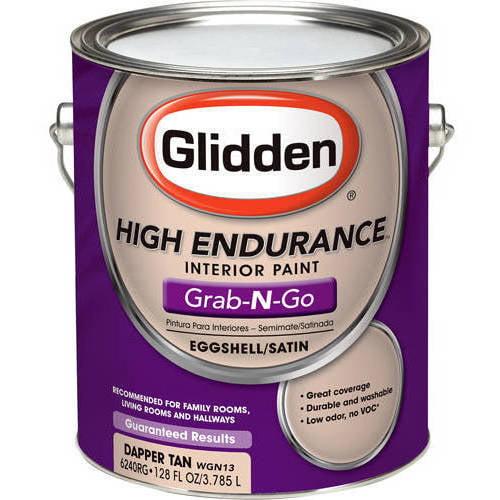 Glidden Dapper Tan Eggshell Grab-N-Go, 1-Gallon