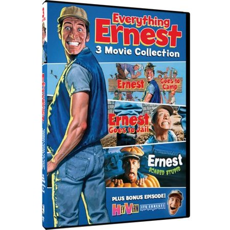 Everything Ernest: 3 Movie Collection: Ernest Goes To Camp / Ernest Goes To Jail / Ernest Scared Stupid - Halloween Movies For Kids Full Episodes