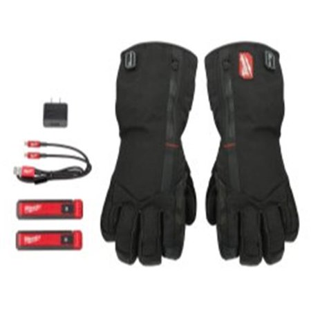 Milwaukee Electric Tools MLW561-21XL Redlithium USB Heated Gloves - Extra