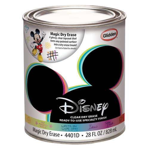 disney dry erase paint qt - Dry Erase Board Paint