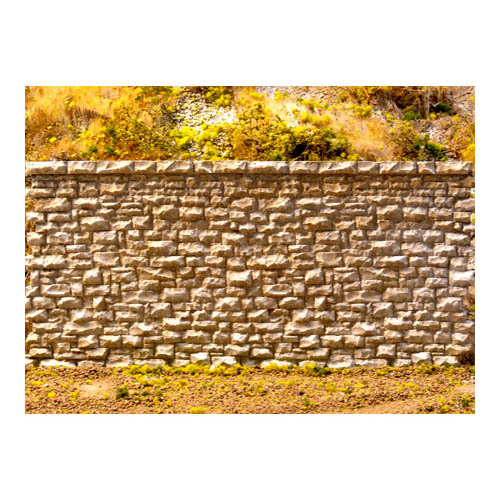HO/O Random Stone Wall Multi-Colored