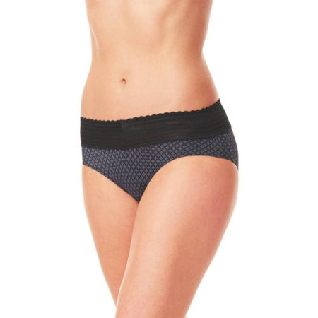 c3fa5b23e994 Warner's - Women's no pinching. no problems. lace hi-cut brief panty -  style 5109j - Walmart.com