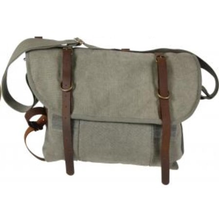Rothco - 9684 Vintage Canvas Explorers Shoulder Bag with Leather Accents -  Walmart.com 3c21f213cb7