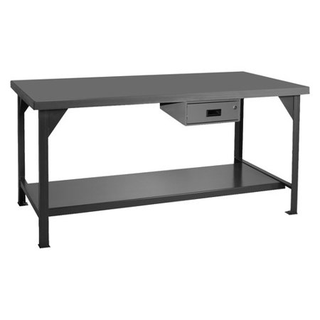 Swell Durham Mfg Hdwb 3660 95 Workbench Steel 60 W 36 D Gmtry Best Dining Table And Chair Ideas Images Gmtryco