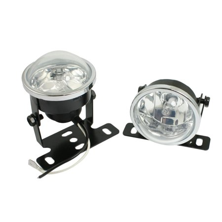 Unique Bargains Vehicle Truck Car Grill Warm White H3 Fog Light Lamp Headlamp 55W DC 12V