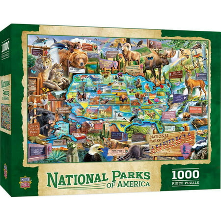 MasterPieces National Parks of America 1000 Piece Jigsaw Puzzle