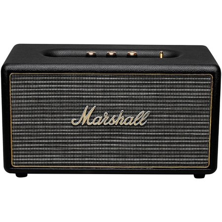 Marshall Stanmore Wireless Bluetooth Stereo Speaker System Black Refurbished by