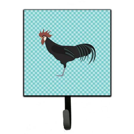 Minorca Ctalalan Chicken Blue Check Leash or Key Holder BB8015SH4