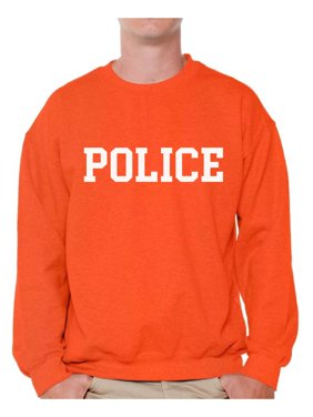 dd1ce7746 Product Image Awkward Styles Police Sweatshirt Cops Pullover Sweater Police  Men s Crewneck Law Enforcement Gifts Police Adult Crewneck