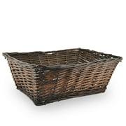 Rectangular Split Willow Utility Basket 17in
