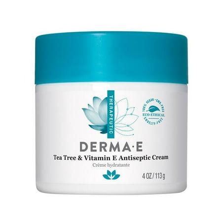 Derma E Tea Tree & Vitamin E Antiseptic Cream, 4 (The Body Shop Vitamin E Face Mist Review)