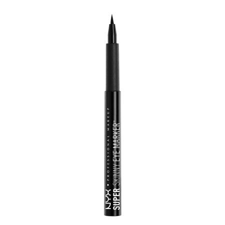NYX Professional Makeup Super Skinny Eye Marker, Carbon (Best Eye Makeup For Small Eyes)