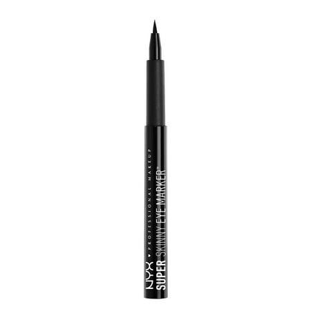 NYX Professional Makeup Super Skinny Eye Marker, Carbon - Halloween Asian Eye Makeup