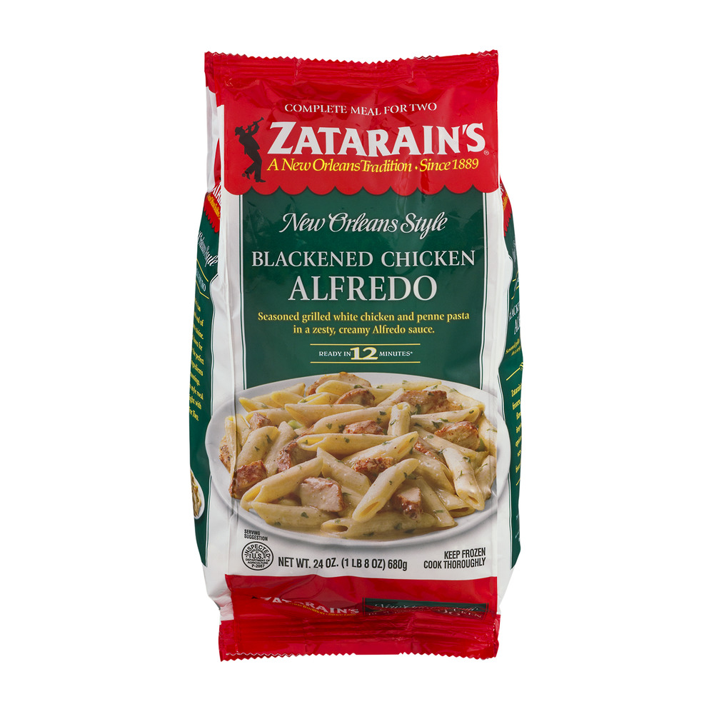 Zatarain's New Orleans Style Blackened Chicken Alfredo, 24.0 OZ