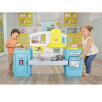 Little Tikes Tasty Jr. Bake 'n Share Play Kitchen with 40+ Piece Accessory Set