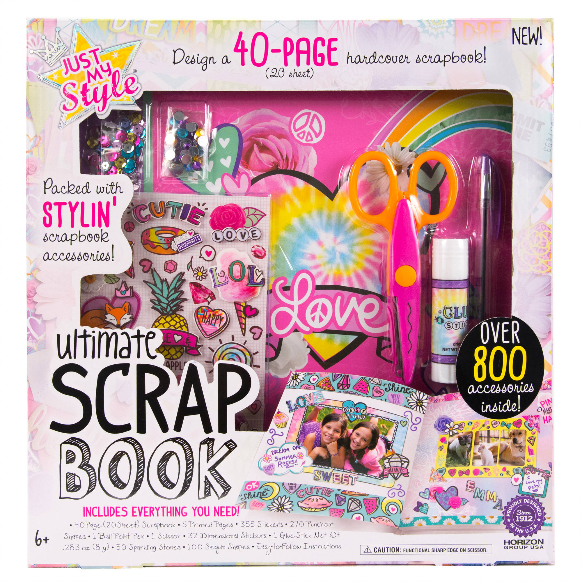 Just My Style Designer Scrapbook Kit by Horizon Group USA