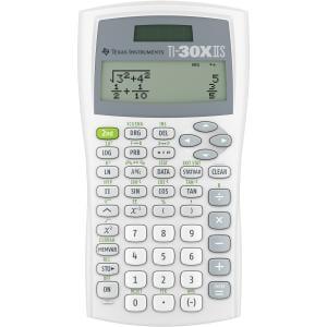 (Texas Instruments TI-30X IIS 2-Line Scientific Calculator - White)