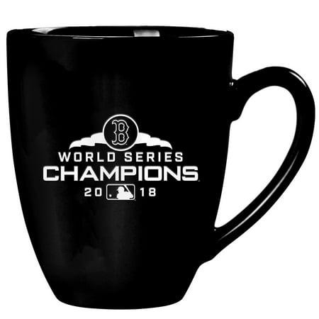 Boston Red Sox 2018 World Series Champions 15oz. Stealth Bistro Mug - Black - No