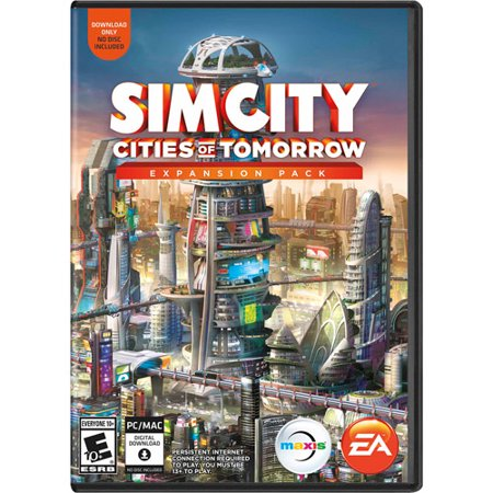 SimCity Cities of Tomorrow Expansion Pack (PC/Mac) (Digital Code) - Party City Coupon Code 2017