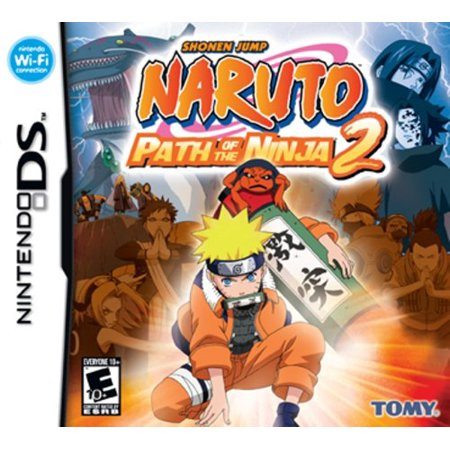 Naruto Path Of The Ninja 2 - Nintendo DS - NEW AND (Ninja Warrior Game Stage 1 2 3 4)