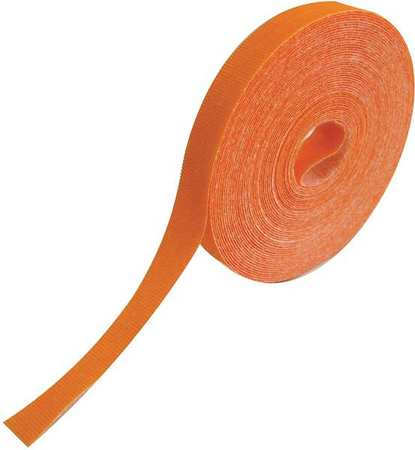 RIP-TIE Hook/Loop Cble,75 ft.x0.50in,Orange,18lb G-05-075-O
