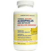 American Health Acidophilus Banana Chewable, 100 CT