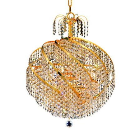 UPC 842814129795 product image for Elegant Lighting Spiral 8052D22 Crystal Chandelier | upcitemdb.com