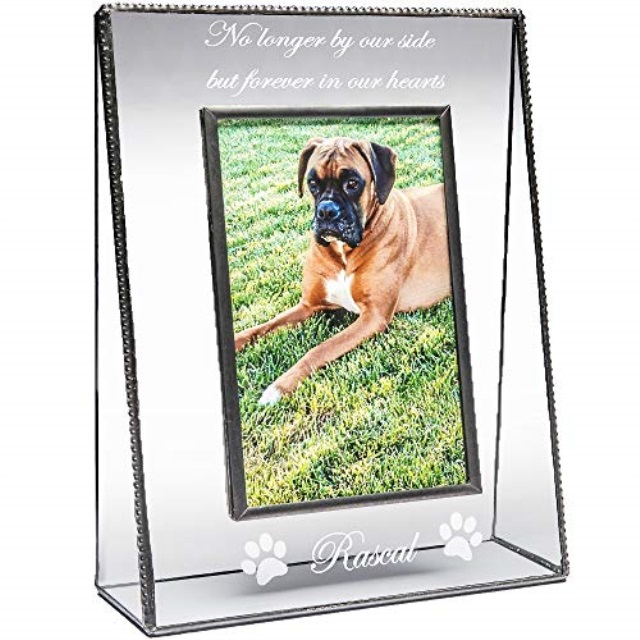 Personalized Engraved //// Boxer //// Picture Frame