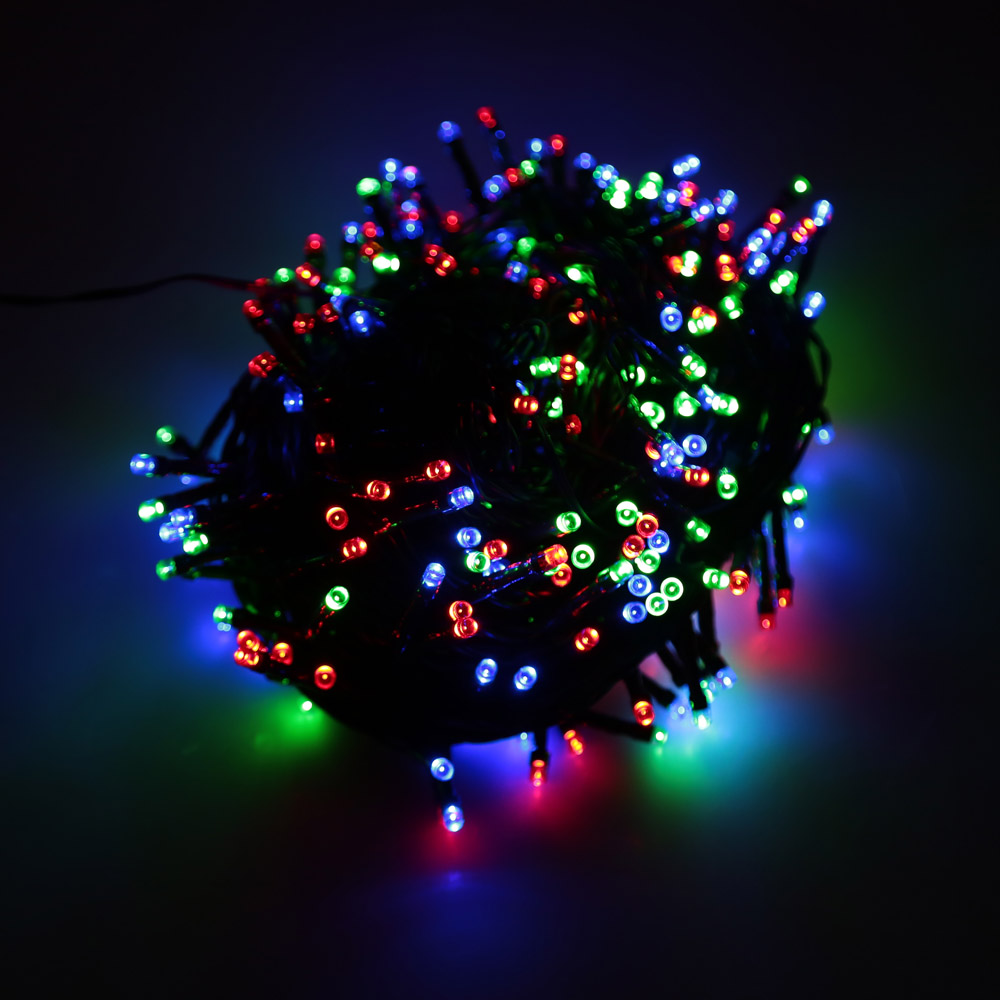 Rgb Led Christmas Lights.Anself Rgb 400 Led Christmas String Light Outdoor Decoration Fairy Xmas Tree Wedding Holiday Party Garden Colorful Usb Dc 5v