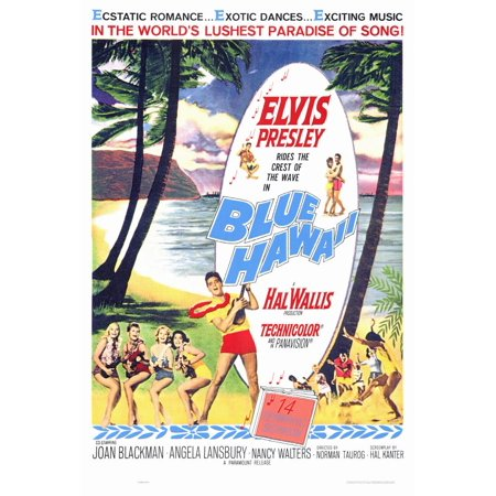Blue Hawaii (1961) 27x40 Movie Poster