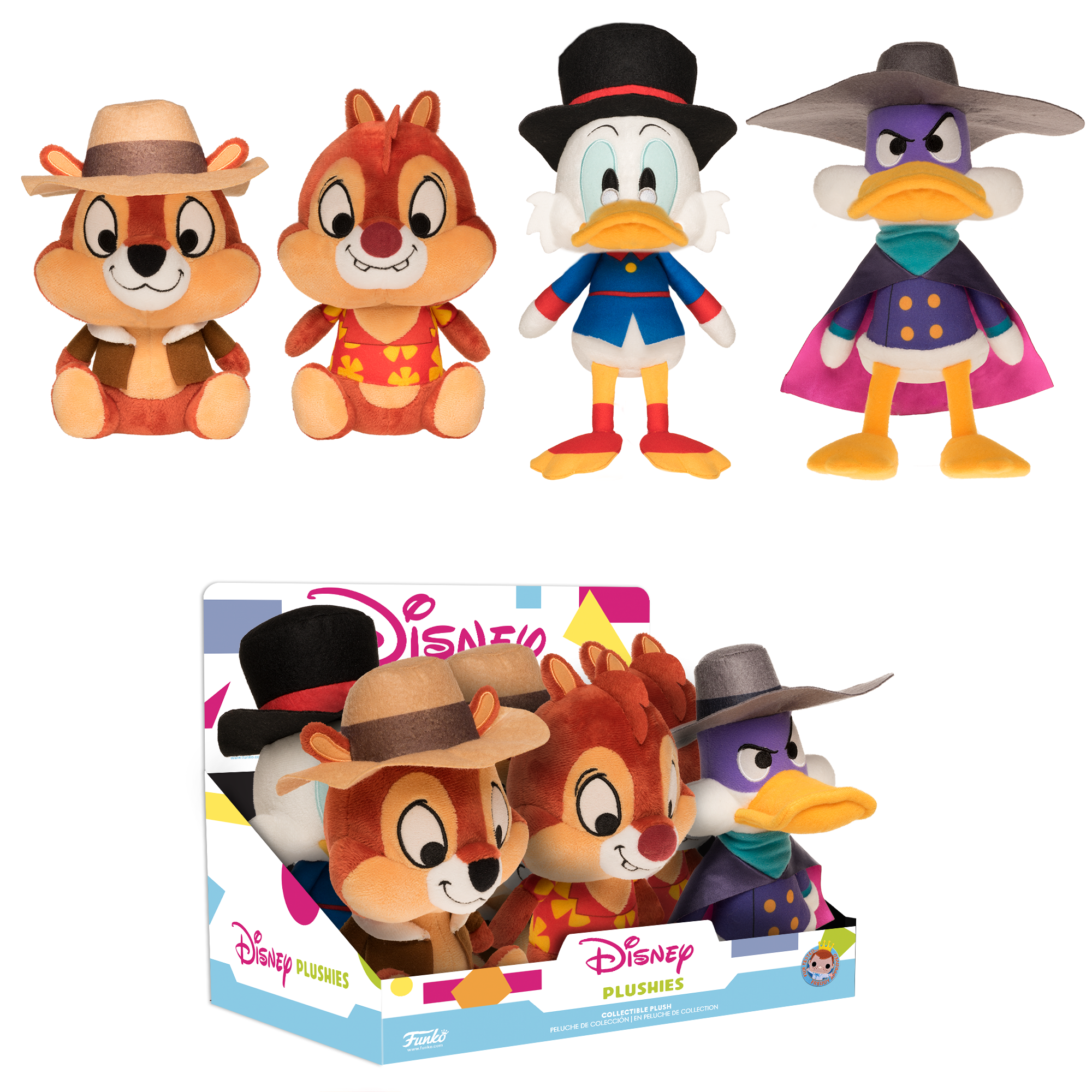 Funko Plush: Disney Afternoon.